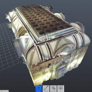 Lasersko skeniranje zgrade Predsjedništva BiH