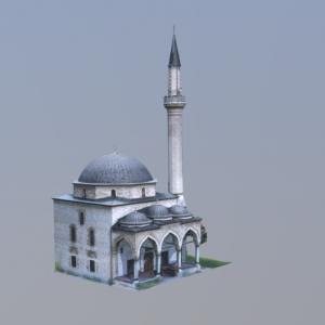 3D skeniranje Alipašine džamije